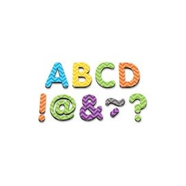 """Teacher Created Resources Chevron 2"""" Magnetic Letters"""