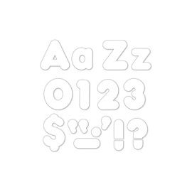"Trend White 4"" Casual Ready Letters Combo Pack"