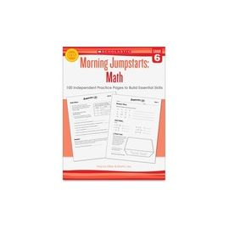 Scholastic Res. Grade 6 Morning Jumpstart Math Workbook Printed Book