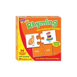 Trend Rhyming Puzzle Set