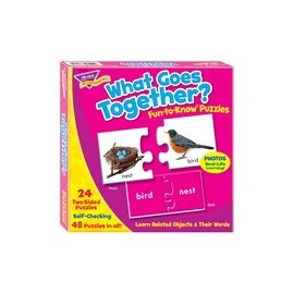 Trend What Goes Together Matching Puzzle Set