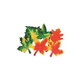 Roylco Color Diffusing Paper Leaves
