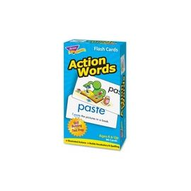 Trend Action Words Skill Drill Flash Cards