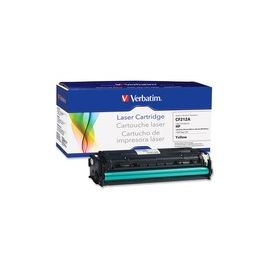 Verbatim Remanufactured Laser Toner Cartridge alternative for HP CF212A Yellow