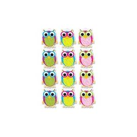 Ashley Scribble Owls Design Dry-erase Magnet