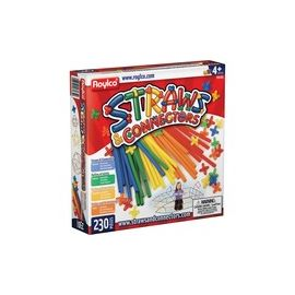Roylco Straws & Connectors Building Set