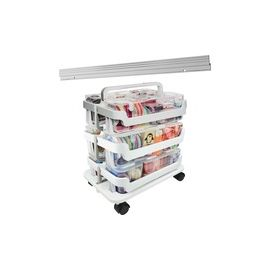 Deflecto Stackable Caddy Organizer Caddy Bundle