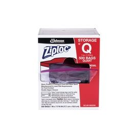 Ziploc® Seal Top Quart Storage Bags