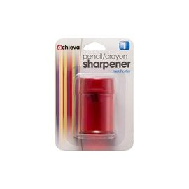OIC Double Barrel Pencil/Crayon Sharpener - 8/BX