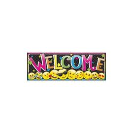 Ashley Magnetic Emoji Welcome Banner