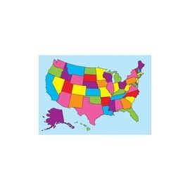 Ashley Magnetic United States Map