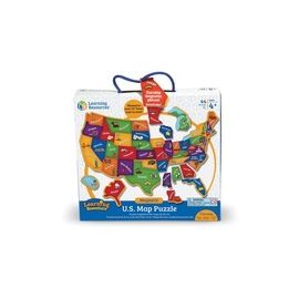 Learning Resources Magnetic US Map Puzzle