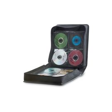 Verbatim CD/DVD Storage Wallet 256 ct. Black