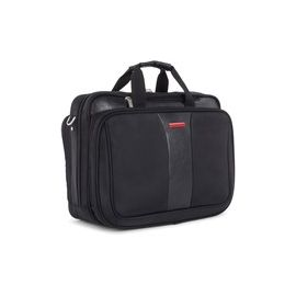 """Swiss Mobility Carrying Case (Briefcase) for 17.3"""" Notebook - Black"""
