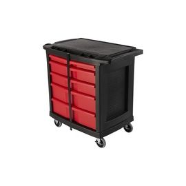 Rubbermaid Commercial 5-Drawer Mobile Work Center
