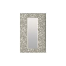 Lorell Mosaic Silver Framed Accent Mirror