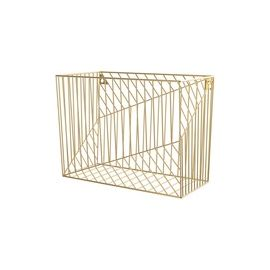 U Brands Vena Hanging File Basket