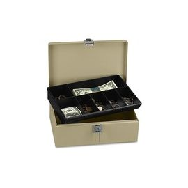 ICONEX SecurIT Lock N' Latch Steel Cash Box