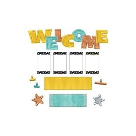 Trend I Love Metal Collection Bulletin Board Set