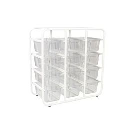 Storex Cubby Bin Storage Rack