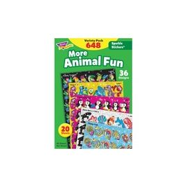 Trend Animal Fun Stickers Variety Pack