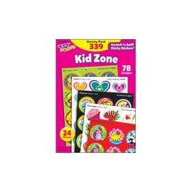 Trend Kid Zone Scratch 'n Sniff Stinky Stickers