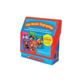 Scholastic K-2 Easy Reader Boxed Book Set Printed Book