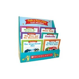 Scholastic K-2 Folk/Fairy Tale Boxed Book Set Printed Book