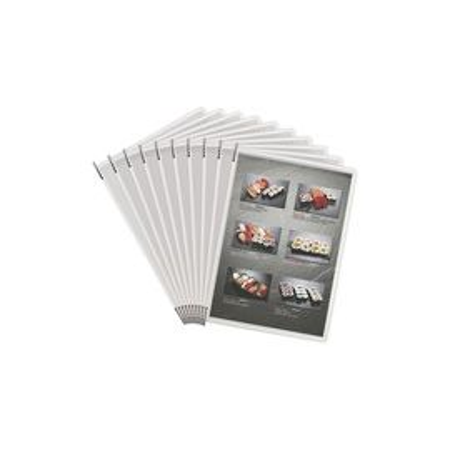 Tarifold Document Display System Pivoting Pockets
