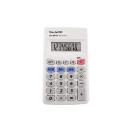 Sharp Calculators EL-233SB 8-Digit Pocket Calculator