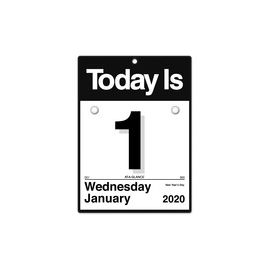 "At-A-Glance ""Today Is"" Daily Wall Calendar Refill"