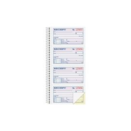 Adams Spiral 2-part Money/Rent Receipt Book