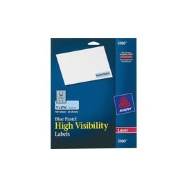 Avery® High-Visibility Printable Labels