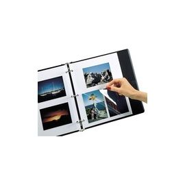 C-Line Redi-Mount Ring Binder Photo Mounting Sheets