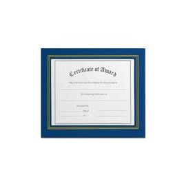 NuDell Flat Leatherette Document Frames