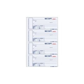 Rediform Hardbound Numbered Money Receipt Books