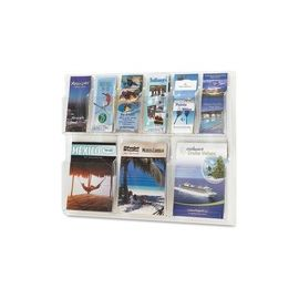 Safco 6-Pamphlet/3-Magazine Display Rack