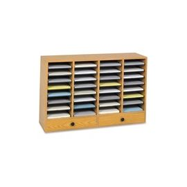 Safco Adjustable Compartment Literature Organizers