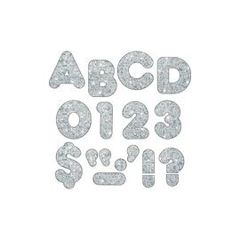 """Trend 4"""" Sparkle Uppercase Ready Letters Set"""
