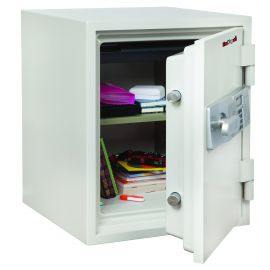 FireKing KF1612-2WHE Two Hour Fire and Water Safe  1.48 ft3  White