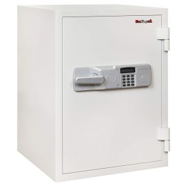 FireKing KF2617-2WHE Two-Hour Rated Steel Fire Safe with Electronic Lock 3.6 Cubic Capacity  White