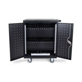 Luxor LLTP32-B 32 Laptop Chromebook Charging Cart
