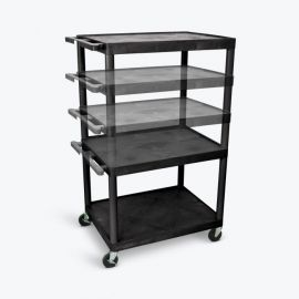 Luxor Presentation Cart Multi Height