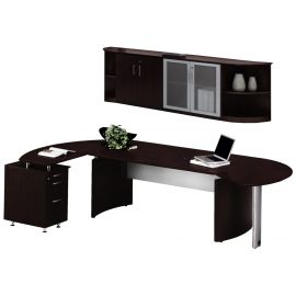 Mayline MNT9LDC Medina Series Office Suite 9 - Mocha - MNT9LDC