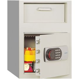 Front Loading Digital Lock Depository Safe 0.8 cu ft