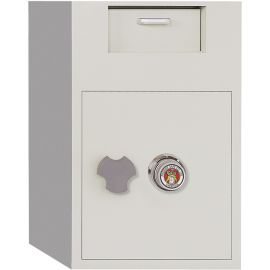 Front Loading Dial Combination Lock Depository Safe with Inner Locking Door 3.48 cu ft