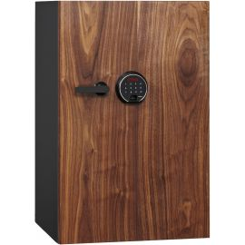 DBAUM Fingerprint Lock Luxury Fire Resistant Safe with Walnut Door 3.0 cu ft