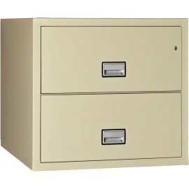 Lateral 31 inch 2-Drawer Fire and Water Resistant File Cabinet