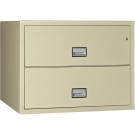 Lateral 38 inch 2-Drawer Fire and Water Resistant File Cabinet