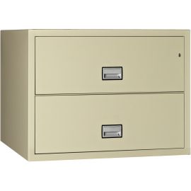 Lateral 44 inch 2-Drawer Fire and Water Resistant File Cabinet